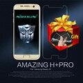 NILLKIN Удивительный Н + PRO 0.2 мм 9 H 2.5D Протектор Экрана Для Samsung Galaxy S7/G930/G930F/G930FD Закаленное Стекло подарок Мягкие Случаи TPU