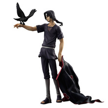 23cm NARUTO Uchiha Itachi Akatsuki Shippuden Animation Cartoon Action Figure PVC Model Toys Dolls Gift