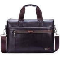 Men Bag Genuine Leather Bag 2016 New Famous Brands High Quality Men Messenger Bags Laptop Bag