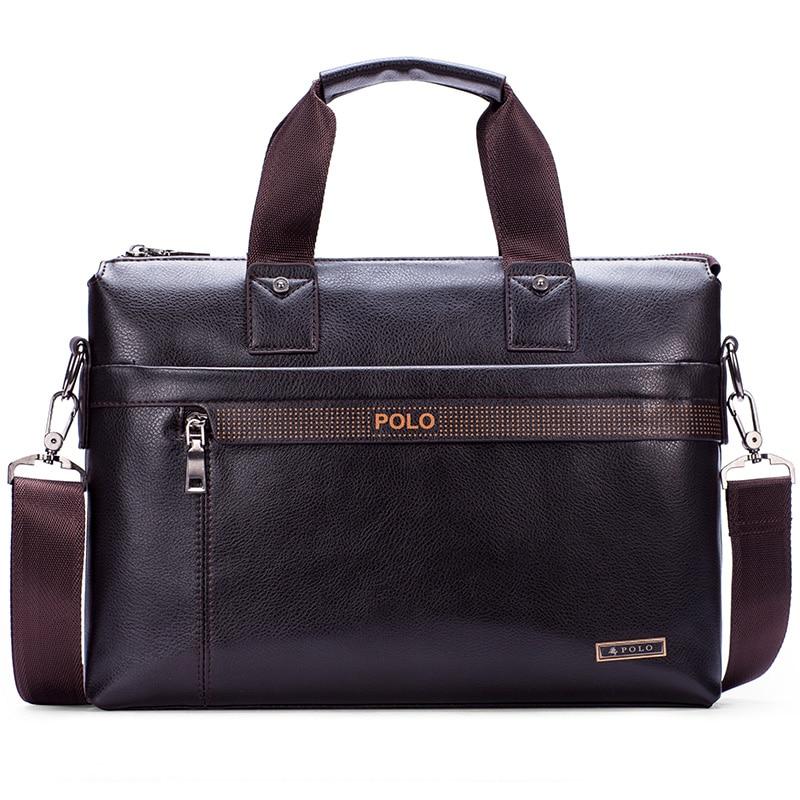 Men bag leather bag 2017 new famous brands high quality men messenger bags laptop bag vintage fashion dollar price