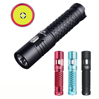 KLARUS Mi7 CREE XP L HI V3 LED 700 Lumens Mini might illumination AA Mini LED EDC Flashlight Torch by AA Battery