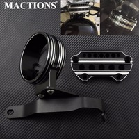 Motorcycle Instrument Bracket Side Speedometer Relocation Mount Bracket For Harley Sportster 883 2004 2015 2016 2017 2018