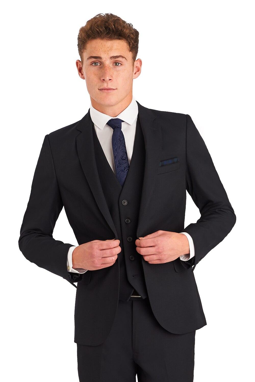 Get Discounts on Men's Black 3 Piece Fashion Vest Suit on exploreblogirvd.gq(89).