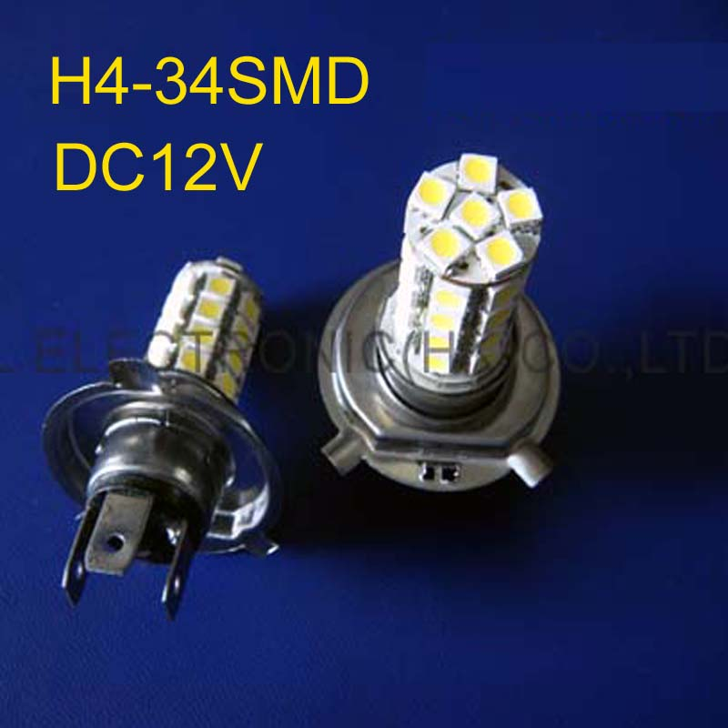 Lights & Lighting High Quality H4 Auto Led Lights,car Led H4 Fog Lamps,h4 Led Car Bulbs Free Shipping 50pcs/lot