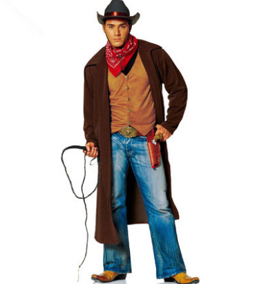 western cowboy costumes for adults cowboy halloween costume ...