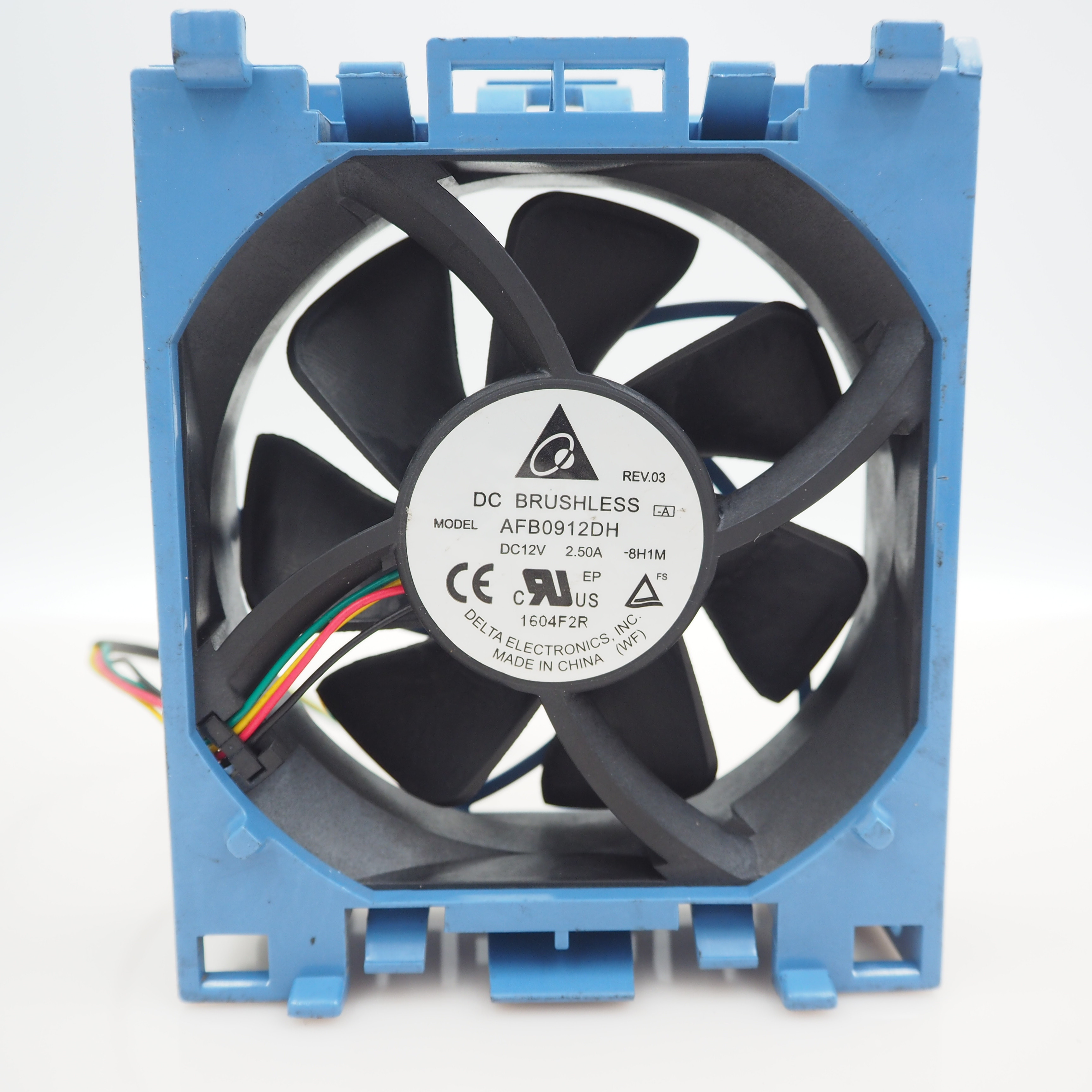 Radiator Cooler CPU Cooling Fan For HP ML350G6 511774-001 DC 12V 9025 AFB0912DH 508110-001 5 Pin For Delta Server 92*92*25mm