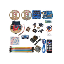 Smart Car Learning Kit Robot The Car Robot For Arduino Smart Turtle Line Tracking Graphic Programming Educational