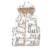 Crianças Jaquetas Para Meninos Meninas 2017 Crianças Colete Bebê Meninos Meninas Winter & Autumn Colete Gato Dos Desenhos Animados Impressão de Algodão Quente Colete com capuz