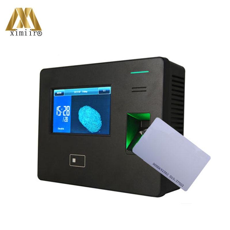 CS600 fingerprint recognition time attendance machine WIFI
