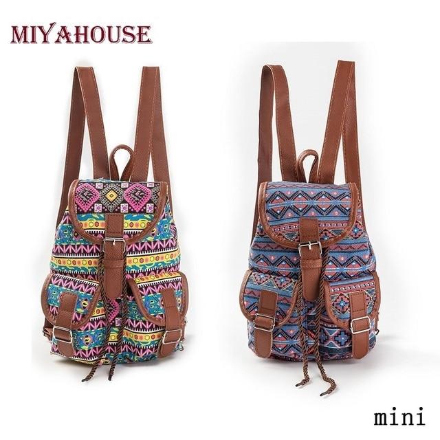 Miyahouse Small Backpack Women Drawstring Backpacks Fashion Girls ...