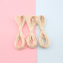 Bite Bites 1PC 1mm 5-20M Accessories DIY Rope Strands Waxed Twisted Cotton Cord String Thread Line Wax Baby Teether