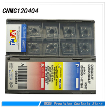 30pcs CNMG120404  CNMG120408  PDR Carbide Milling cutters APKT 1204 PDR IC908 Insert face mill