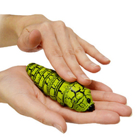 Infrared Funny Gadgets Remote Control Bionic Worm Plastic Bromas Toys Magic Bug For Children Fun Toys