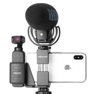 Image 5 - Ulanzi OP 1 suporte de fixação para osmo bolso com telefone multi purpose montagem para tripé de vídeo microfone luz cardan accessaries