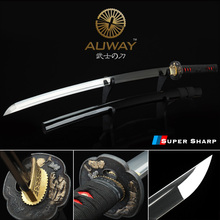 combat weapon handmade katana real sword military japanese samurai sword sharp japan ninja sword modern tactical original katana цена