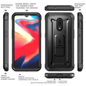 Image 4 - SUPCASE עבור OnePlus 7 מקרה UB פרו מלא גוף מוקשח נרתיק כיסוי עם או ללא Built in מסך מגן & Kickstand