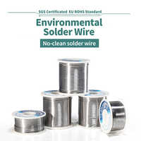 NEW High Quality Solder Wire Roll Rosin Core Tin Lead 0.4 0.5 0.6 0.8 1mm Soldering Tin Wires with Flux welding iron Wire Reel