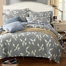 100% algodón 3/pcs conjuntos de ropa de cama de gama alta de algodón doble/single/double/queen/king size duvet cover set sábanas conjuntos