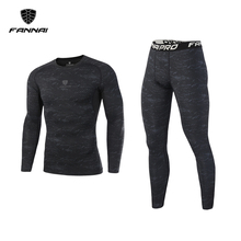 Brand Mens Compression Sports Suit Men Gym Shirt Fitness Legging Male T-Shirt Jogging Tights Outdoor Running Sets