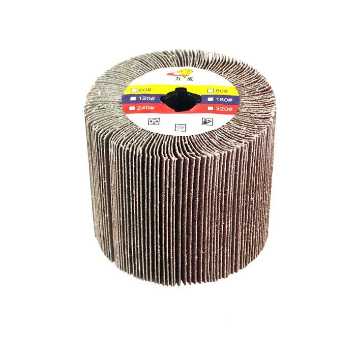 2 unités/lot disque à lamelles de polissage à noyau croisé pour le polissage/polisseuse/ponceuse