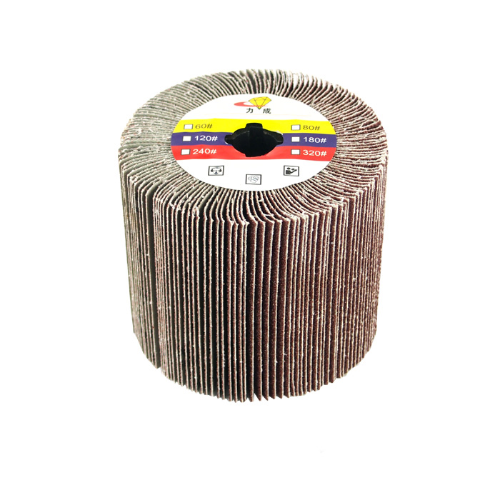 2 units/lot Cross Core Burnishing Polishing Flap Wheel Flap Disc for drawing polishing Burnishing Machine/Polisher/Sander