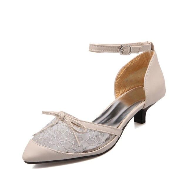Las Medio Zapatos Bajas Sandalias Tobillo Mujeres De 2017 Correa 9eWI2HEDY