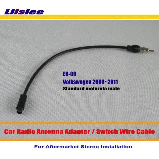 liislee for volkswagen jetta polo routan car radio antenna adapter rh aliexpress com 68 VW Wiring Diagram VW Wiring Diagram