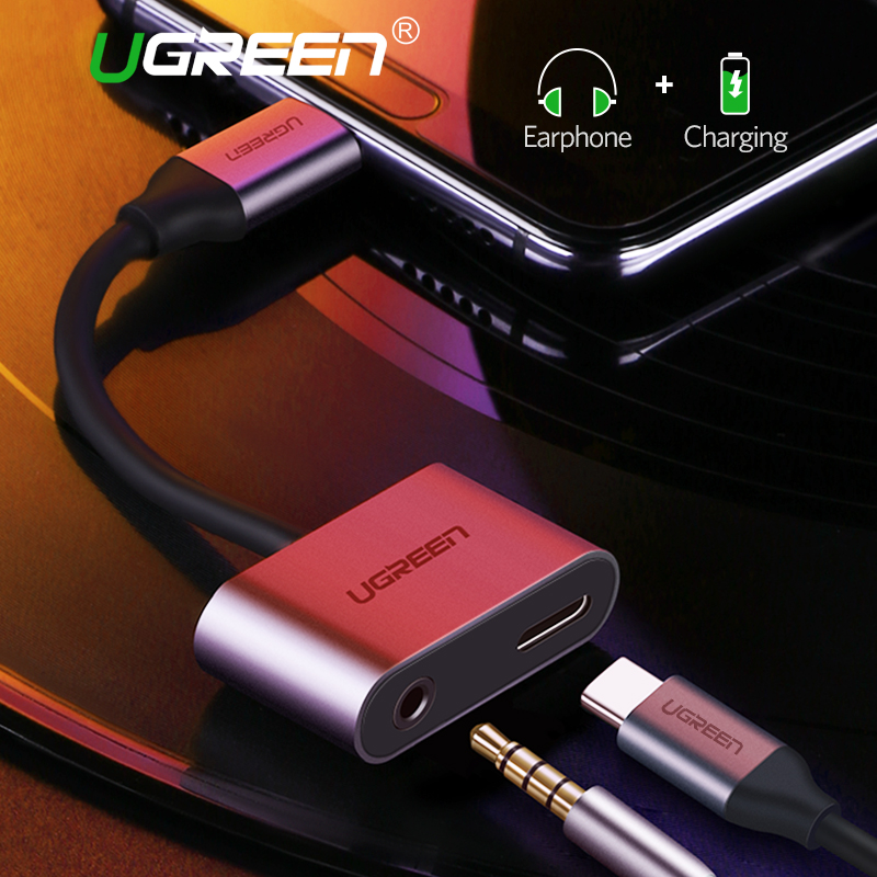 Ugreen USB C to Jack 3.5 Type C Cable Adapter For Huawei P20 Pro Xiaomi Mi 6 8 9 se Note USB Type C 3.5mm AUX Earphone ConverterUgreen USB C to Jack 3.5 Type C Cable Adapter For Huawei P20 Pro Xiaomi Mi 6 8 9 se Note USB Type C 3.5mm AUX Earphone Converter