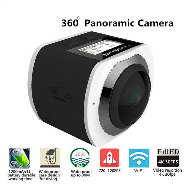 360 Panoramic Camera 360 WiFi Mini Camera Allwinner 4K Camera Waterproof Sport 3D VR Videos Camera With Go Sport Pro Camcorder