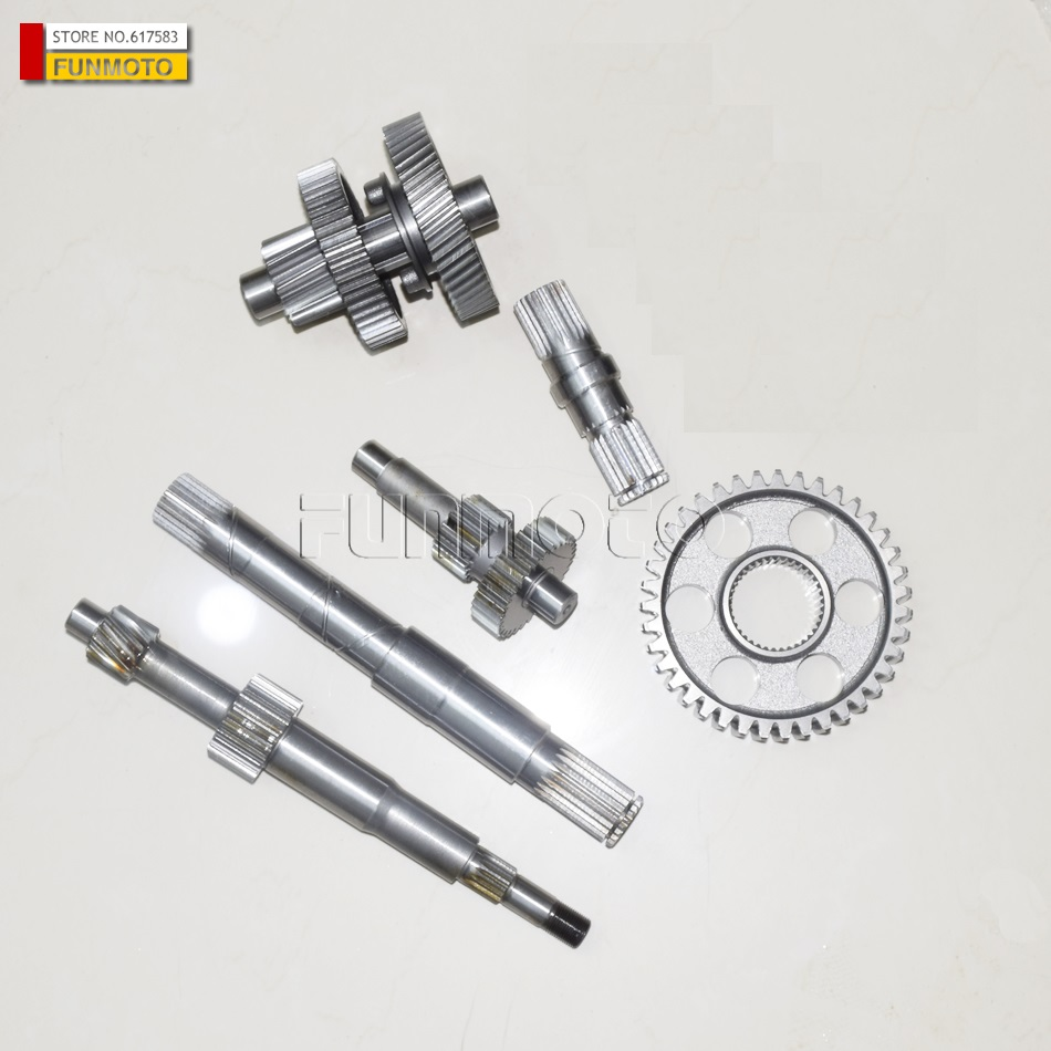 Differential and gears suit for KD260-2/KD260-1/GSMOON 260 atvDifferential and gears suit for KD260-2/KD260-1/GSMOON 260 atv