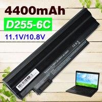 D255 4400 mAh Batería Del Ordenador Portátil para Acer Aspire One D270 D260 522 722 AOD257 AOD260 D255 D255E D257 D257E E100 AL10A31 AL10G31