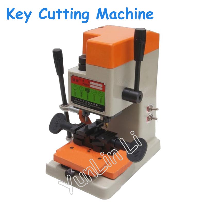 220V/110V Vertical Key Cutting Machine Key Copying Machine Key Duplicator Locksmith Supplies with English Manual 398L