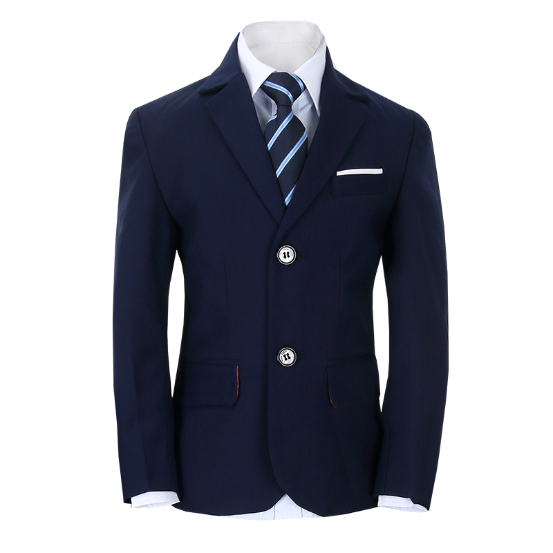 2018 summer boys wedding costume formal blazer suits england style boys prom vest blazer suit children clothing set