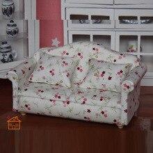 1:12 Dollhouse Sueño Salón Sofá muebles de Muñeca para Jugar a las Casitas Juguetes para niños Juguetes y Pasatiempos