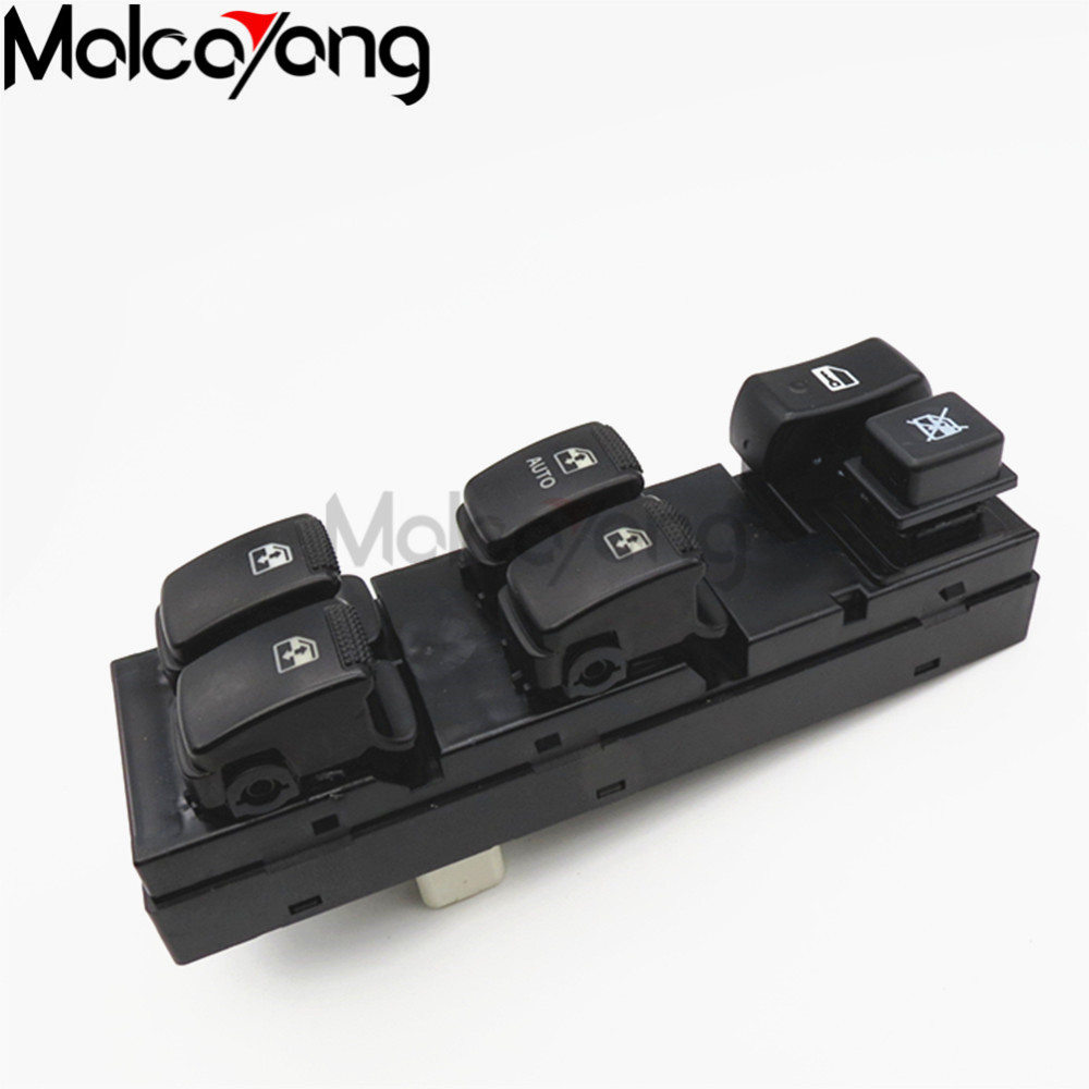 Car styling electric power window lifter master control switch for 04 10 hyundai tucson 93570
