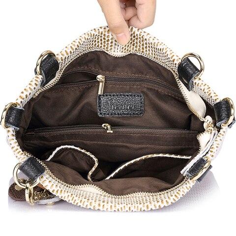 REALER woman genuine leather handbag female casual leather tote top-handle bag small shoulder bag for ladies messenger bags Multan