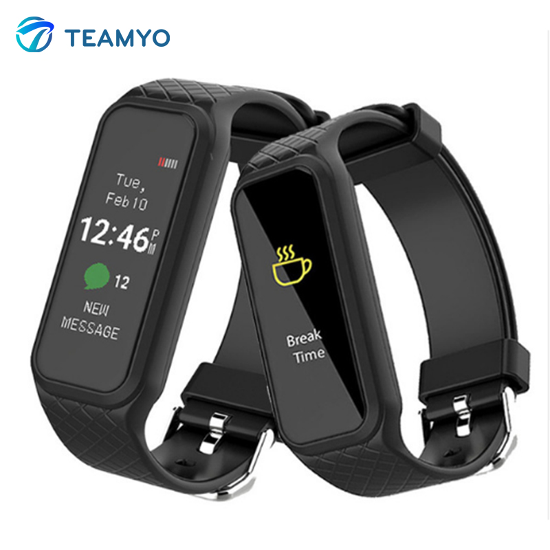 Teamyo Sport Smart wristband L38I Heart Rate Monitor plusometro Fitness tracker Pedometer smart watch For Android
