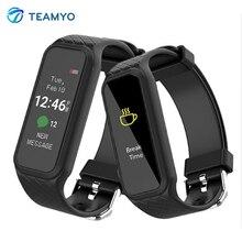 Teamyo спорт смарт браслет l38i heart rate monitor plusometro фитнес-трекер шагомер smart watch для android ios