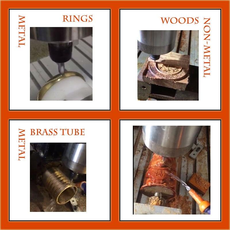 Ipari 6090 CNC útválasztó formázó fa dizájn faragó - Famegmunkáló berendezések - Fénykép 6