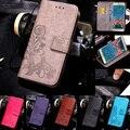 PU Кожаный Бумажник Flip Case Для Samsung Galaxy J1 J2 J3 J5 J7 2015 2016 S7 S6 S5 S4 S3 Мини Премьер-Край Ace Крышка Коке Funda