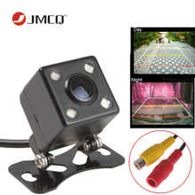 2017 HD Impermeable Que Invierte el Estacionamiento de línea CCD cámara de visión trasera 4 LED de 140 grados de visión nocturna Luxur cámara del coche cámara de reserva
