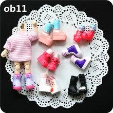 Новинка; 1/12 кукла пластиковая обувь ob11 пластиковая обувь 1/12BJD(подходит для ob11, obitsu11, cu-poche, 1/12 куклы