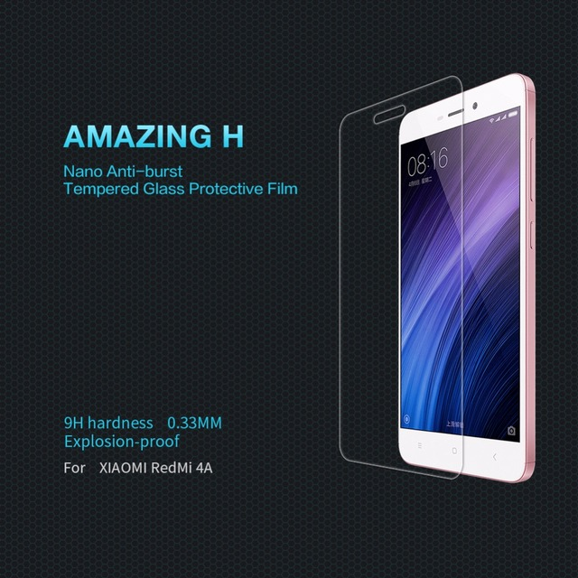 NILLKIN Amazing  Nanometer Anti-Explosion Tempered Glass Screen Protector for XIAOMI RedMi 3/3S/3 PRO/ 4/ 4A /Note 3 /Note 4