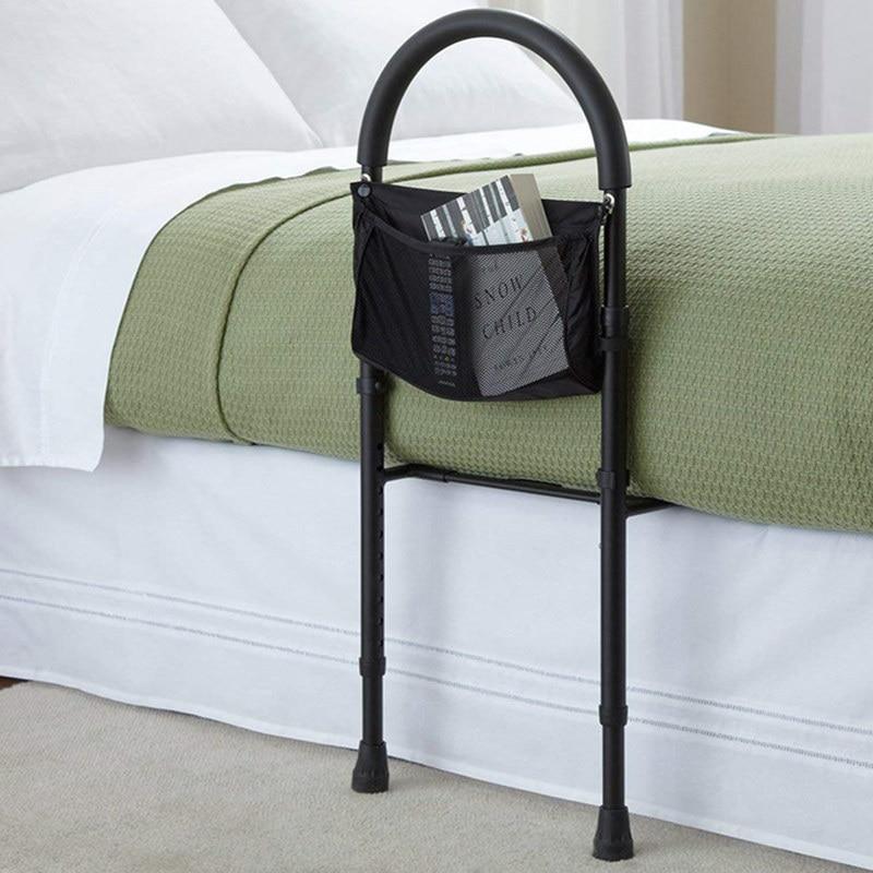 Jaycreer Bed Assist Bar With Storage Pocket Height Adjustable Bed