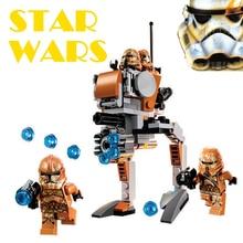 Bela Kompatibel med Lego Star Wars 75089 Space Wars Avengers Geonosis Troopers Byggstenar Tegel Leksaker För Barn 2018 Ny
