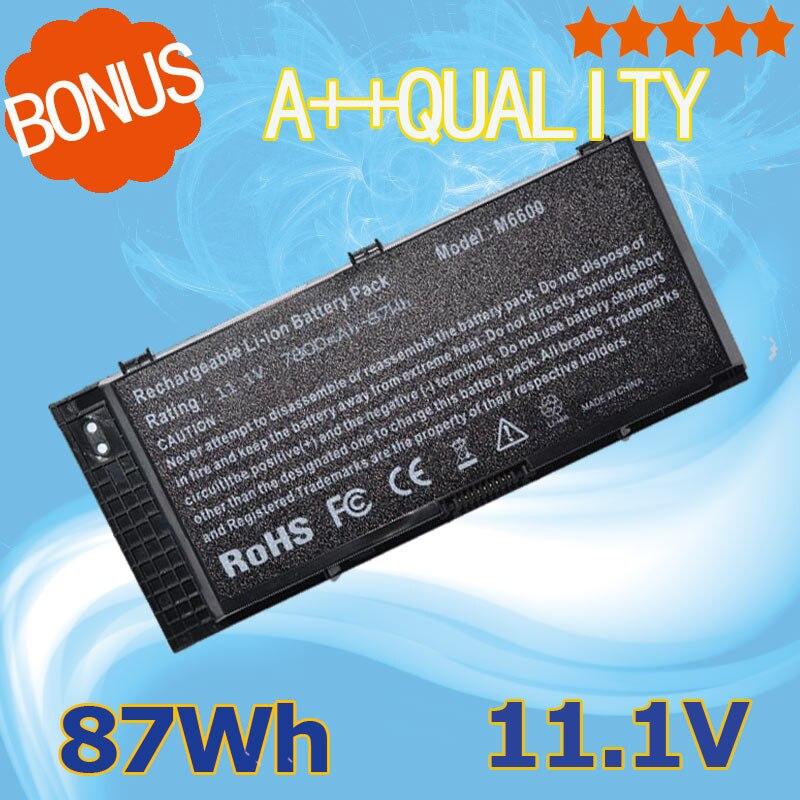 Новый ноутбук Батарея 87wh FV993 для Dell Precision M6600 M6700 m6800 M4600