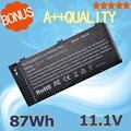 Nova 87wh fv993 bateria do portátil para dell precision m4600 m4700 m6600 m6700 m6800 m4800 t3nt1 pg6rc r7pnd otn1k5 n71fm