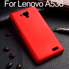 Lenovo A536 Case Lenovo A536 Cover Hard Plastic Back Shell Lenovo A 536 Cover Capa Coque Mobile Phone Bags Cases Accessories