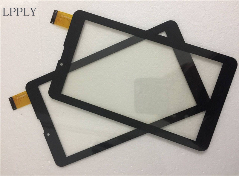LPPLY New 7'' Black For Irbis HIT TZ49 TZ48 TZ43 TX35 3G Touch Screen Digitizer Sensor Replacement Parts Free shipping new touch screen digitizer for 7 irbis tz49 3g irbis tz42 3g tablet capacitive panel glass sensor replacement free shipping