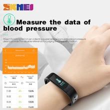 SKMEI 3D UI Smart Fitness Tracker Sport Outdoor Smartband Waterproof HeartRate Blood Pressure Bracelet Fashion Men Women Watches